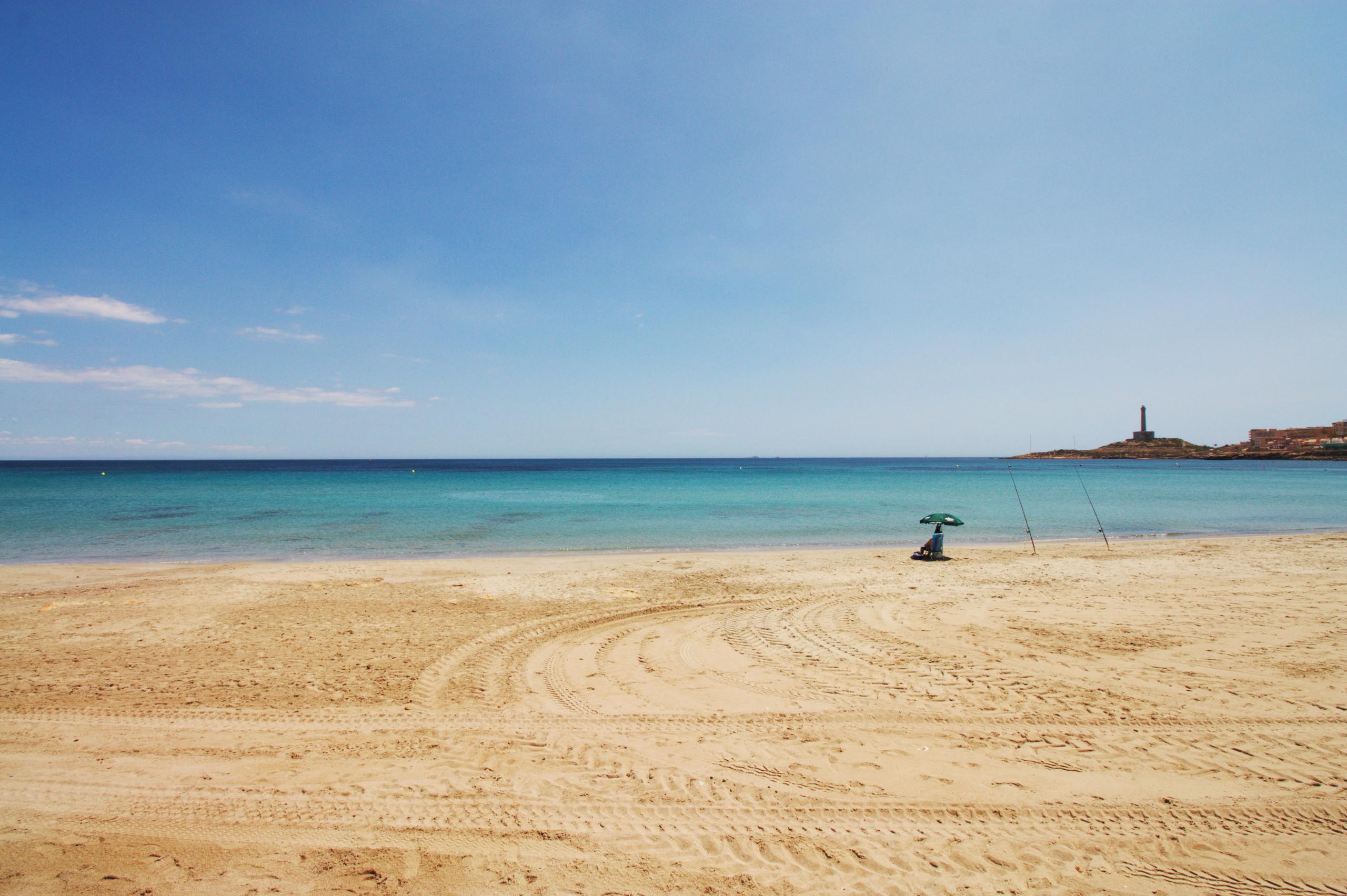 playa de levante, cabo de palos