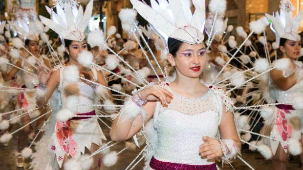 carnaval de cartagena: comparsa