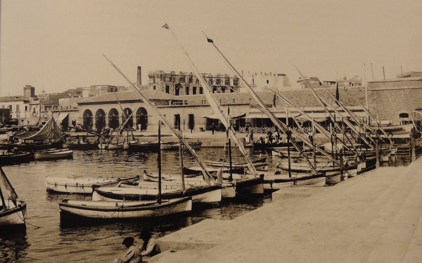 origenes del cafe asiatico: antiguo puerto de cartagena